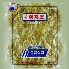 국내가공 쥐치포-중국산250g